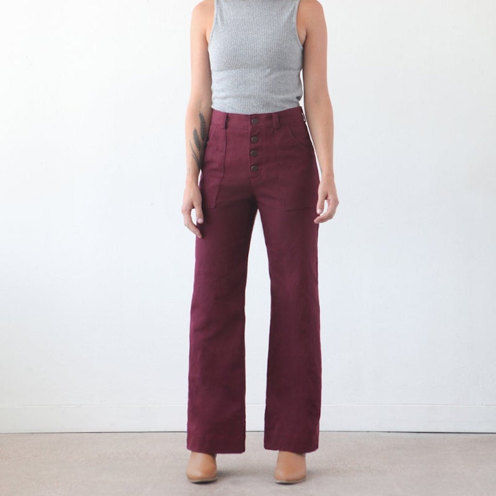 True Bias Lander Pant & Short Pattern - Frumble Fabrics