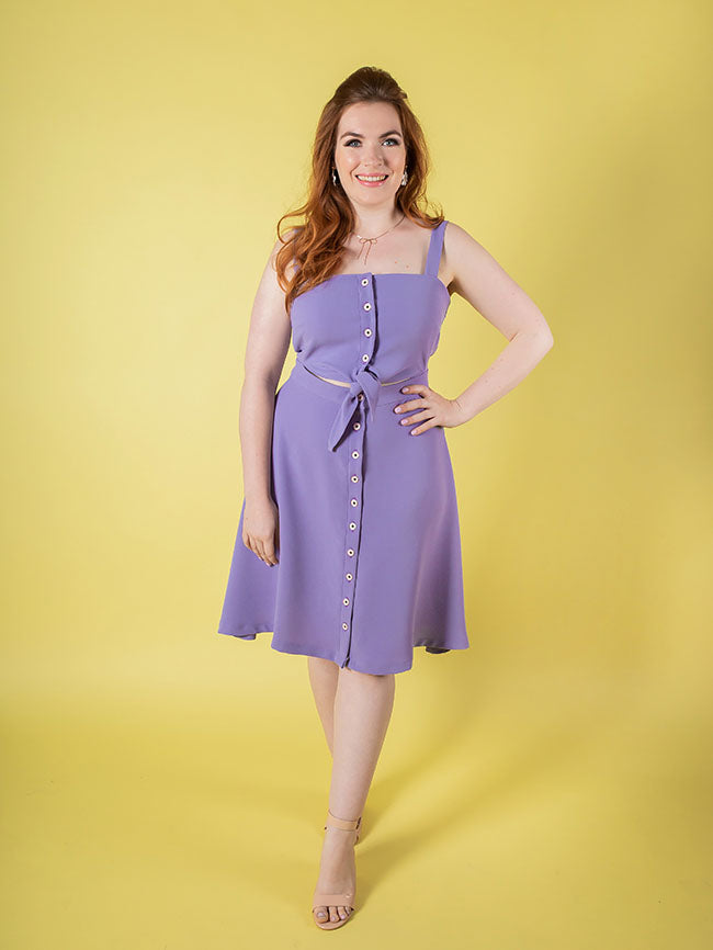 Seren Dress  - Tilly and the Buttons Pattern - Frumble Fabrics