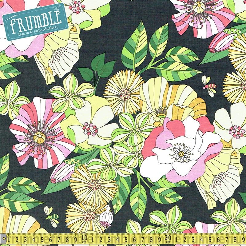 Grandiflora Garden Fabric by Michael Miller