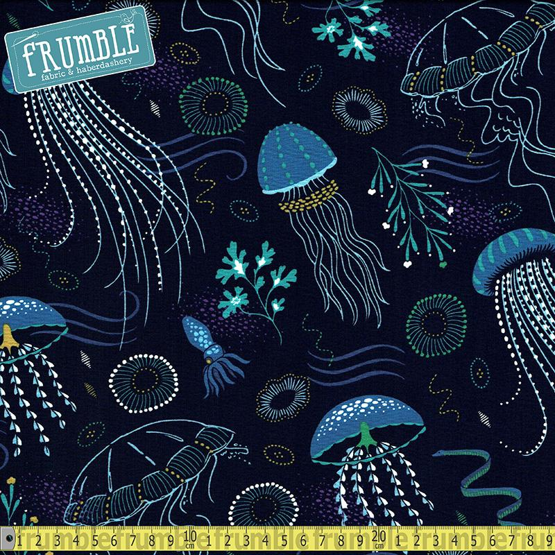 Into The Deep Lagoon - Frumble Fabrics