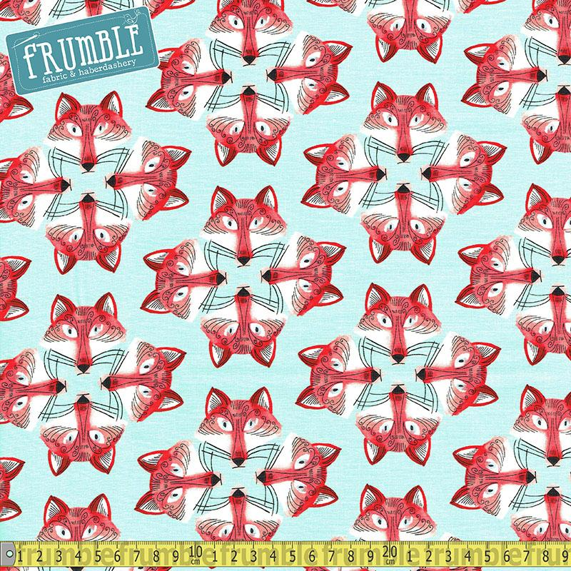 Out Foxed Mist - Frumble Fabrics