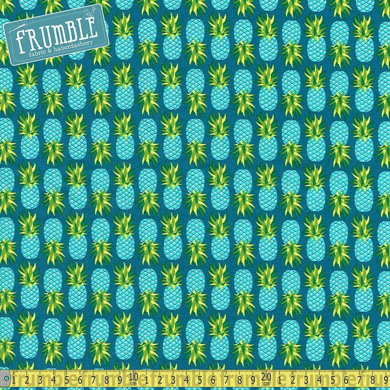 Party Like A Pineapple Ocean - Frumble Fabrics