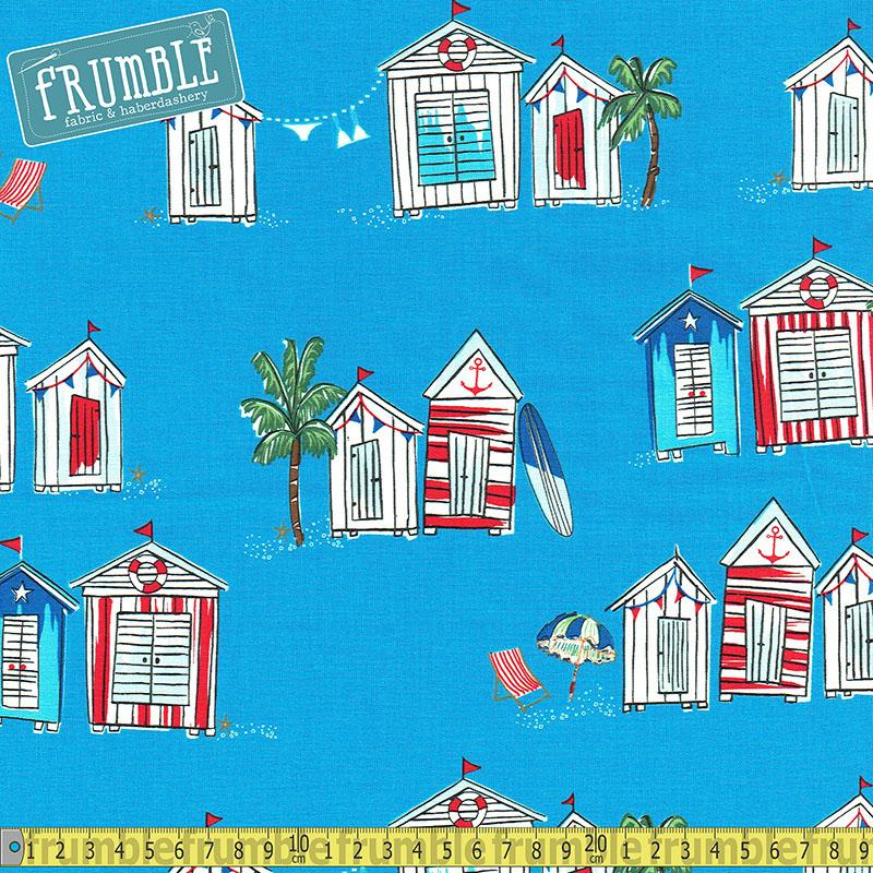 Seas The Day Mali Fabric by Michael Miller