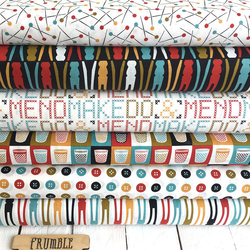Mad Mend Sewing Fabric FQ Bundle