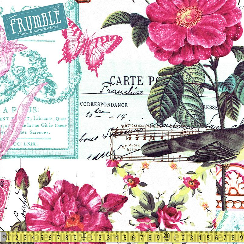 Belle Rose Pink - Frumble Fabrics
