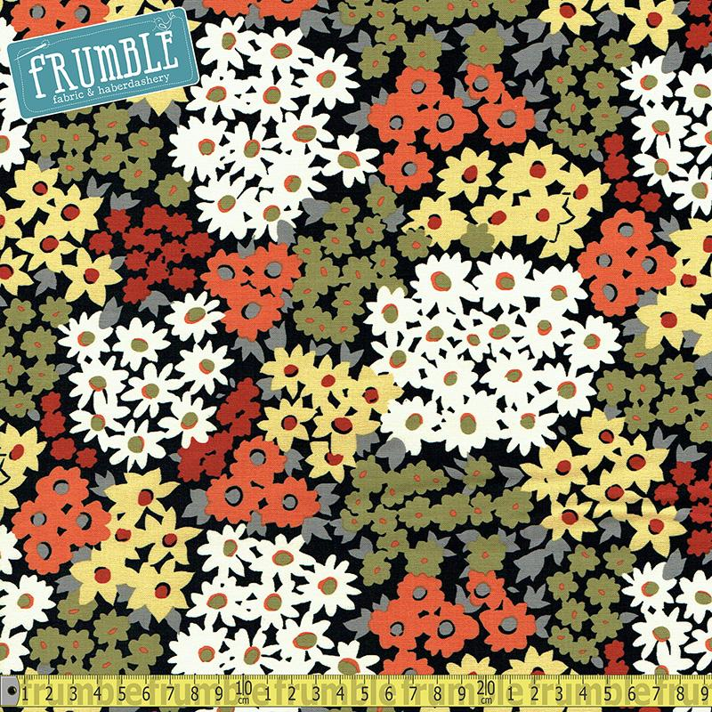 Chamomile Lawn Sunshine Fabric by Michael Miller