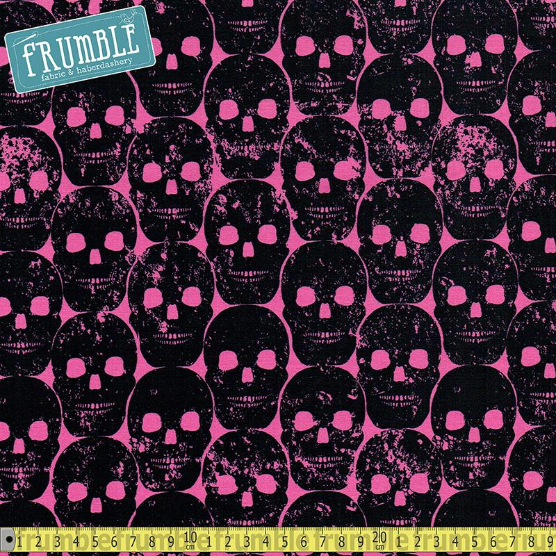 Numb Skull Candy Fabric by Michael Miller