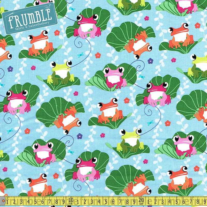 Unfrogettable Croc Fabric by Michael Miller