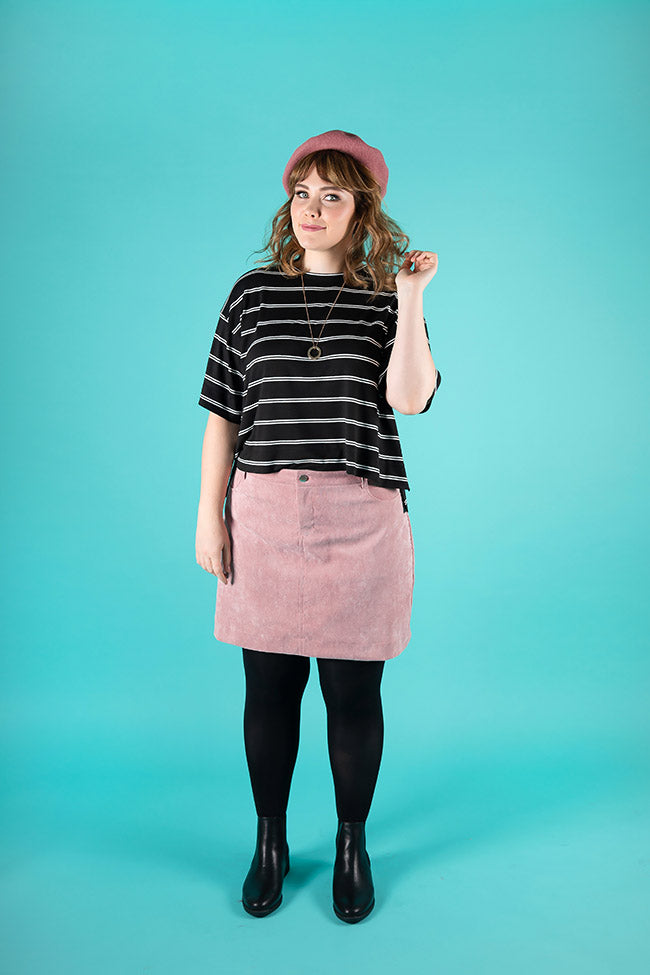 Ness Skirt  - Tilly and the Buttons Pattern - Frumble Fabrics