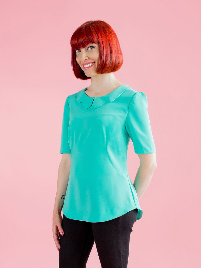 1009 Orla Shift Top - Tilly and the Buttons Pattern - Frumble Fabrics