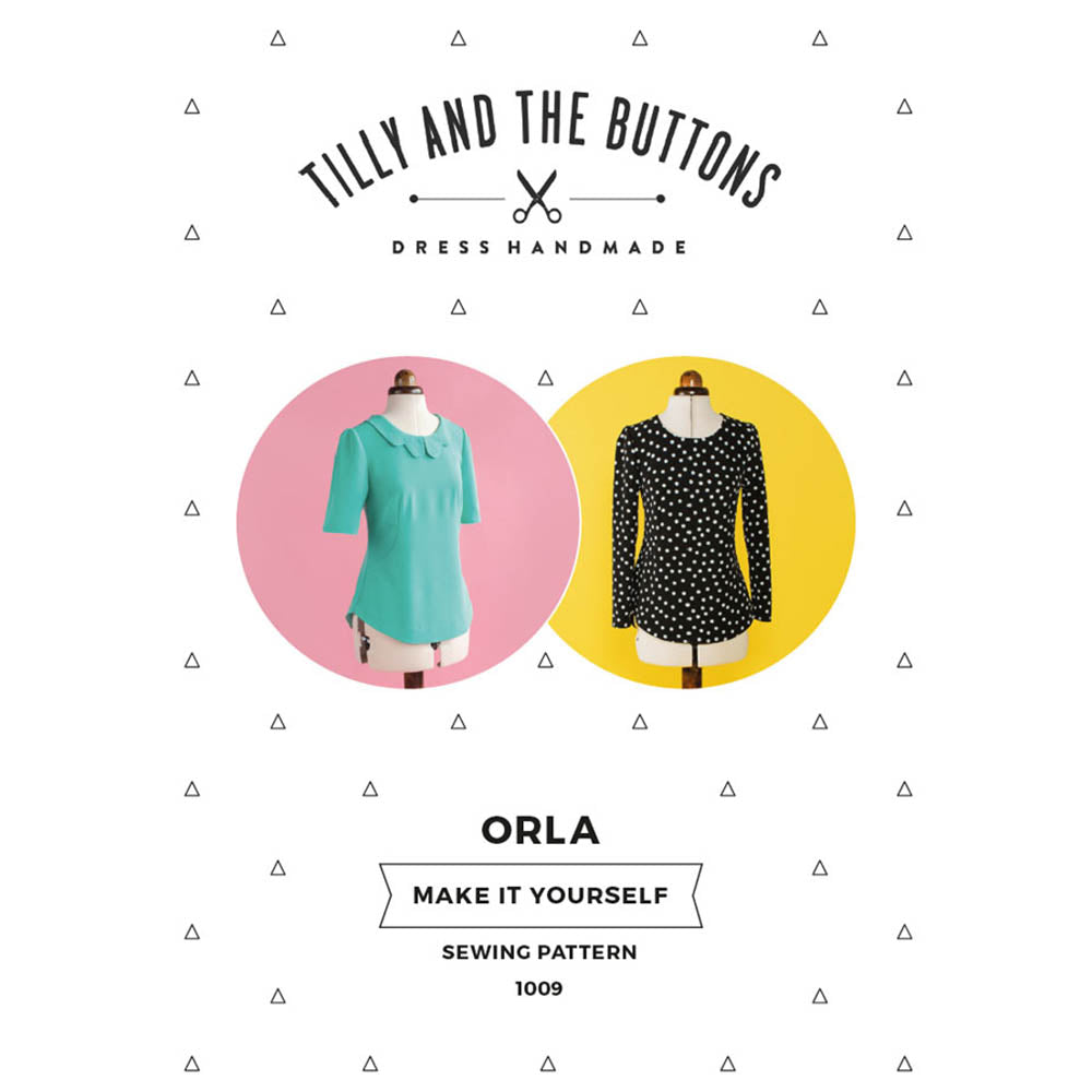 1009 Orla Shift Top - Tilly and the Buttons Pattern