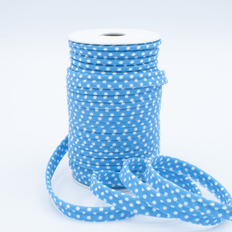 Medium Polka Dot Piping Bias Binding - Frumble Fabrics