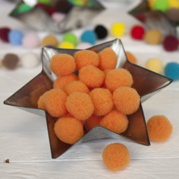 Medium Pom Pom Ball 100 Pack - Frumble Fabrics