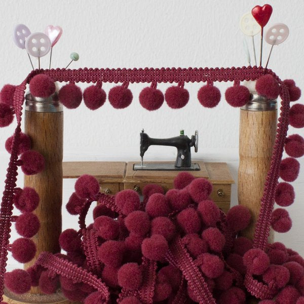 Medium Pom Pom Trim - Frumble Fabrics