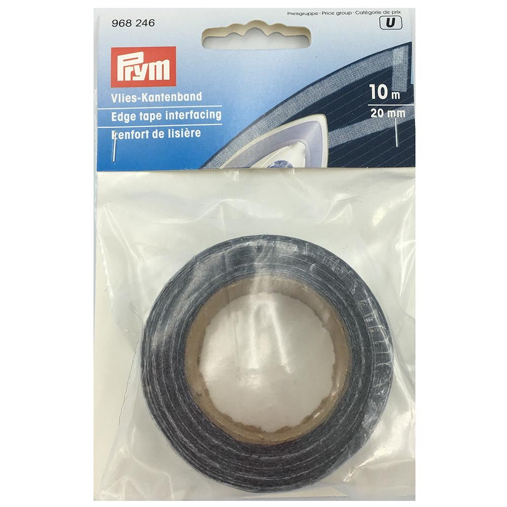 Iron On Prym Edge Tape Interfacing - Graphite