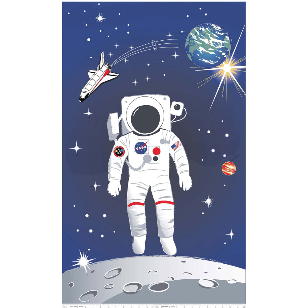 NASA Out Of This World 60cm Panel - Frumble Fabrics