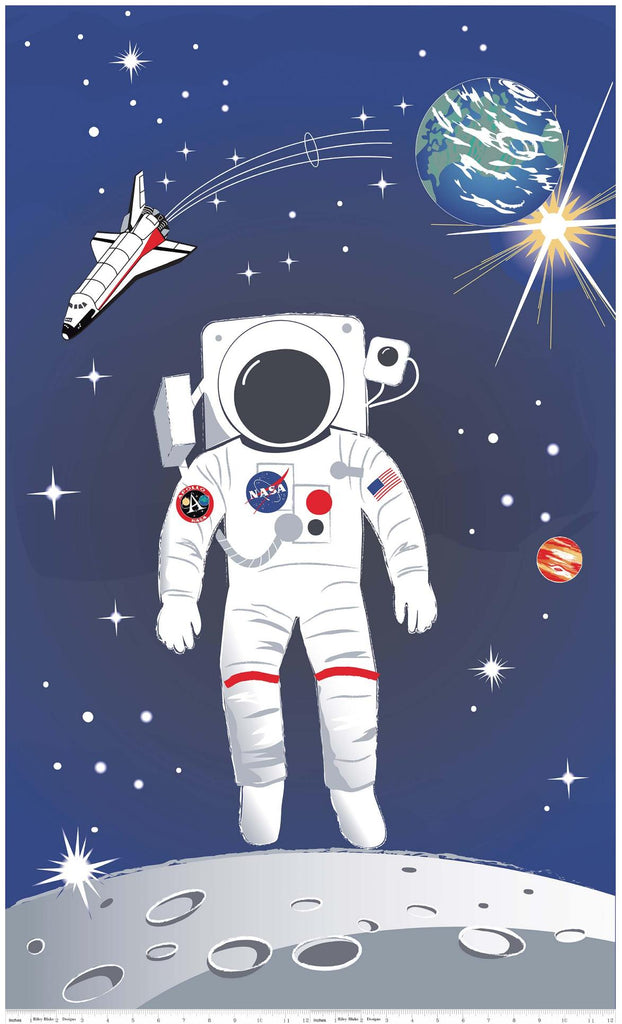 NASA Out Of This World 60cm Panel Fabric by Riley Blake