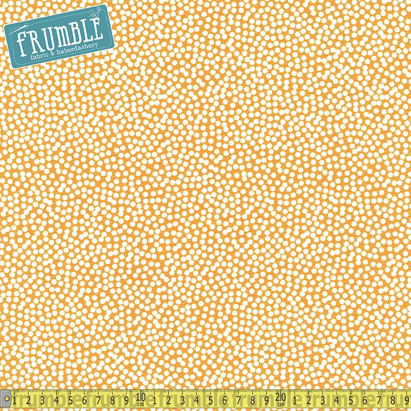 Spot On Scatter Dot Curry - Frumble Fabrics