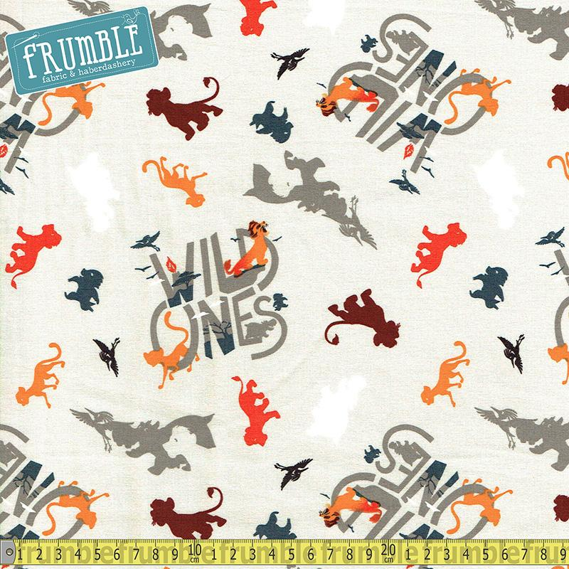 Disney Lion King Wild Ones Multi - Frumble Fabrics