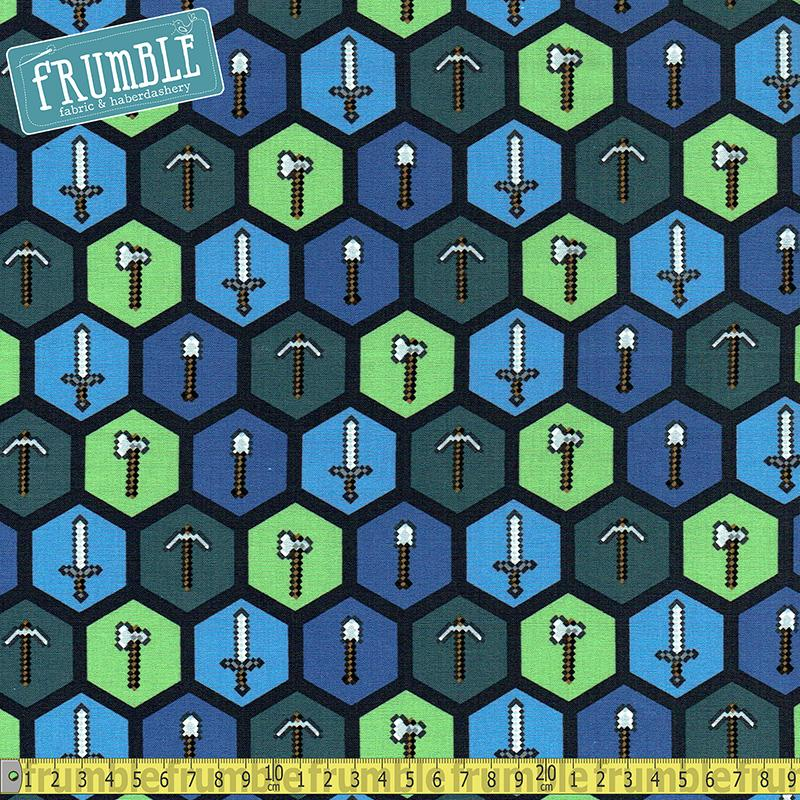 Minecraft Tools Multi - Frumble Fabrics