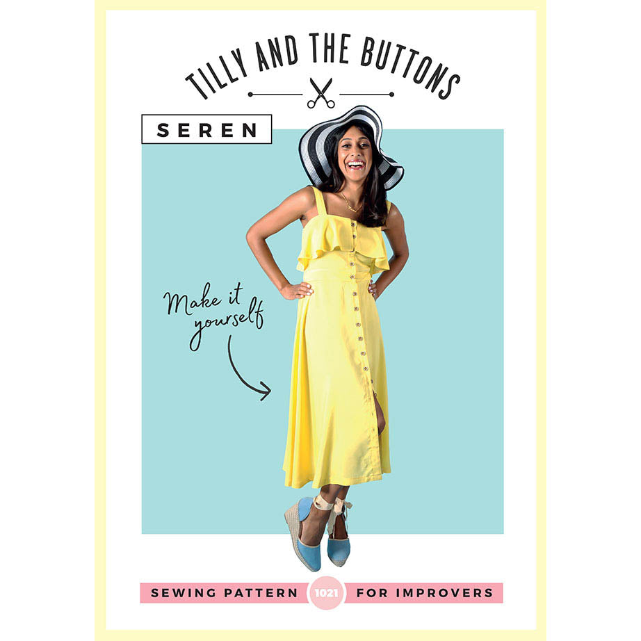 Seren Dress  - Tilly and the Buttons Pattern