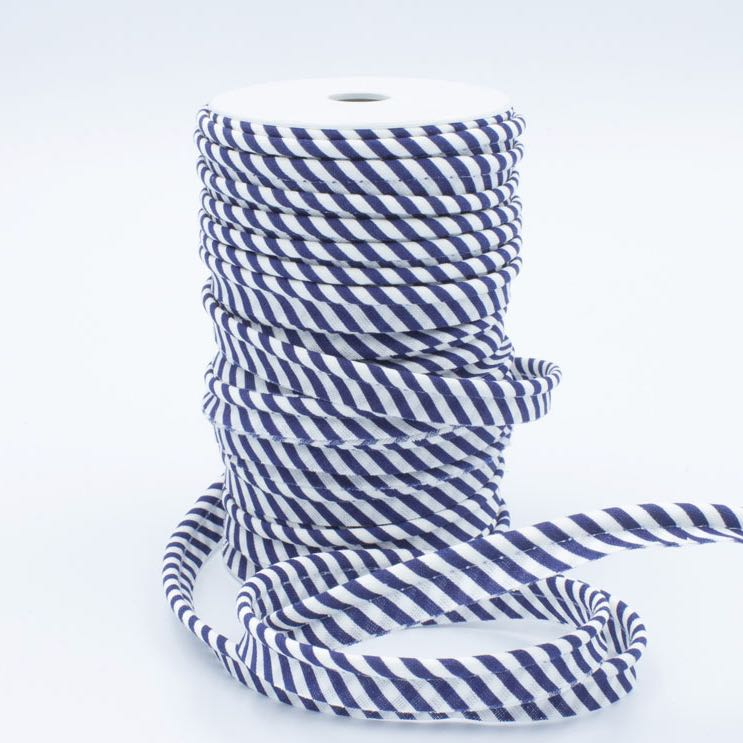 Medium Stripe Piping Bias Binding - Frumble Fabrics