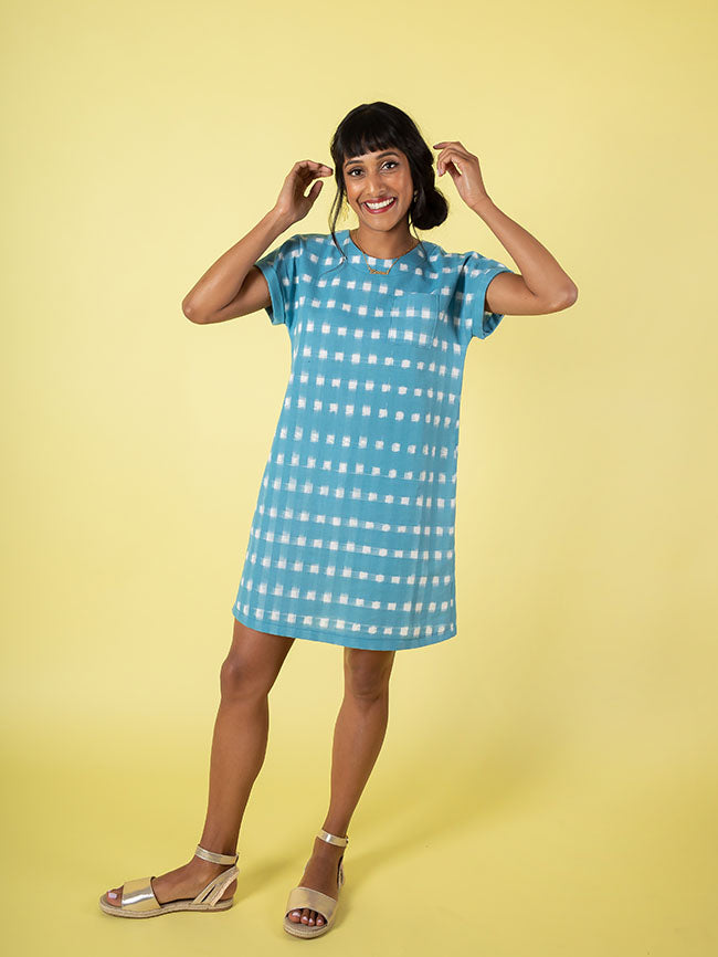 Stevie Tunic Top or Dress  - Tilly and the Buttons Pattern - Frumble Fabrics