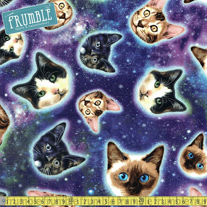 Galaxy Cats - Frumble Fabrics