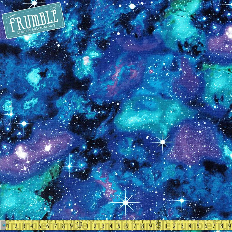 Space Galaxy Stars - Frumble Fabrics