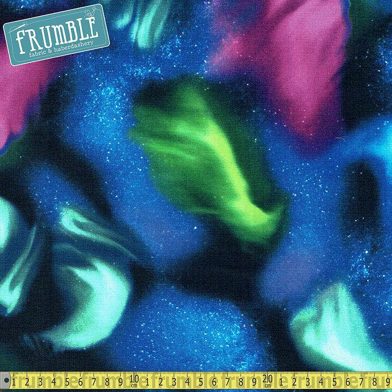 Aurora Sky in Night - Frumble Fabrics
