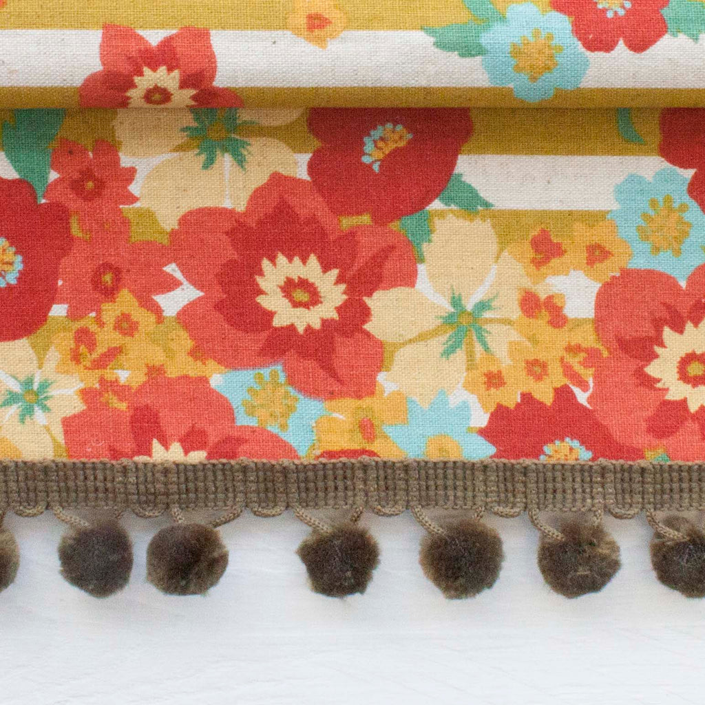 Fluffy Furnishing Pom Pom Trim - Frumble Fabrics