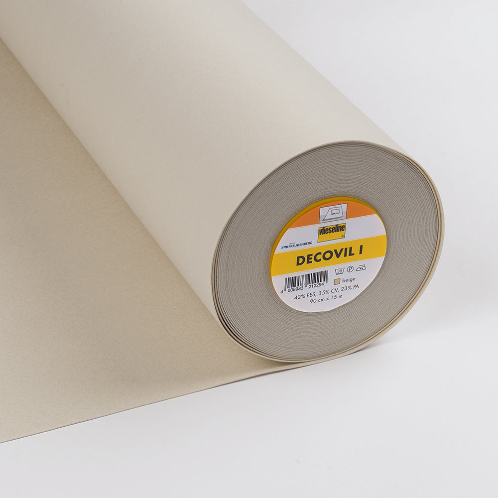Decovil I Fusible Interlining With Leather-Like Handle (Per Metre) - Frumble Fabrics