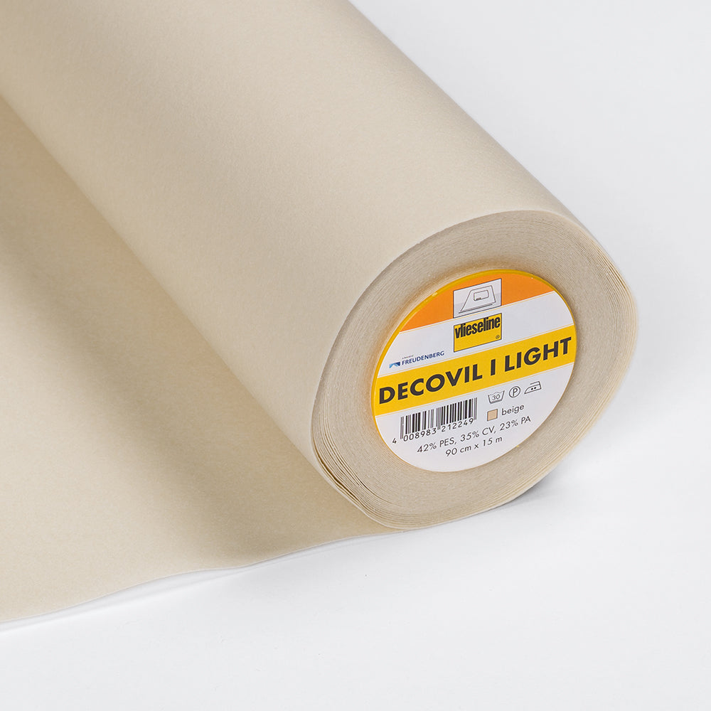 Decovil I Light Lightweight Fusible Interlining DVL (Per Metre) - Frumble Fabrics