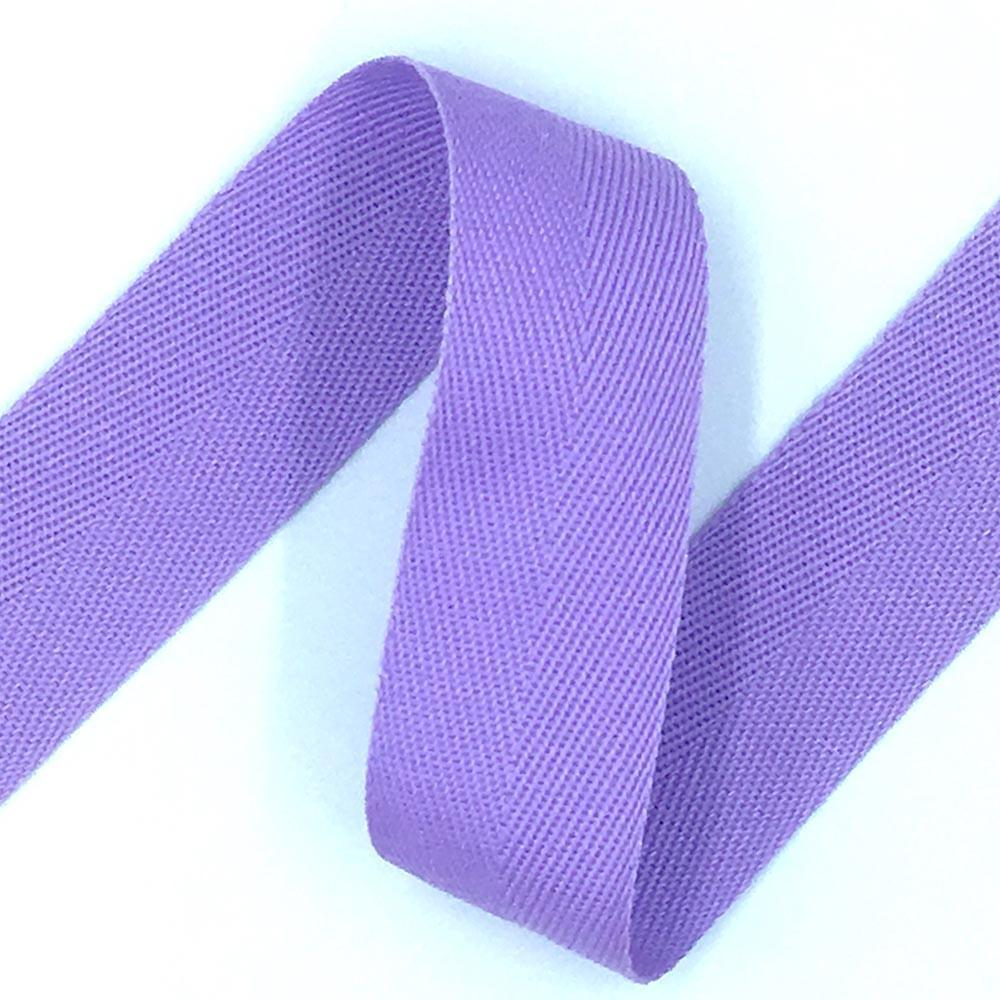 38mm Acrylic Webbing Tape - Lilac