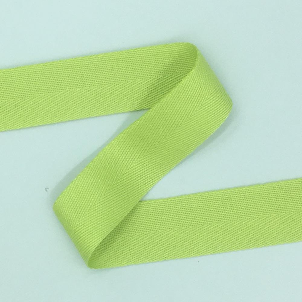 38mm Acrylic Webbing Tape - Lime
