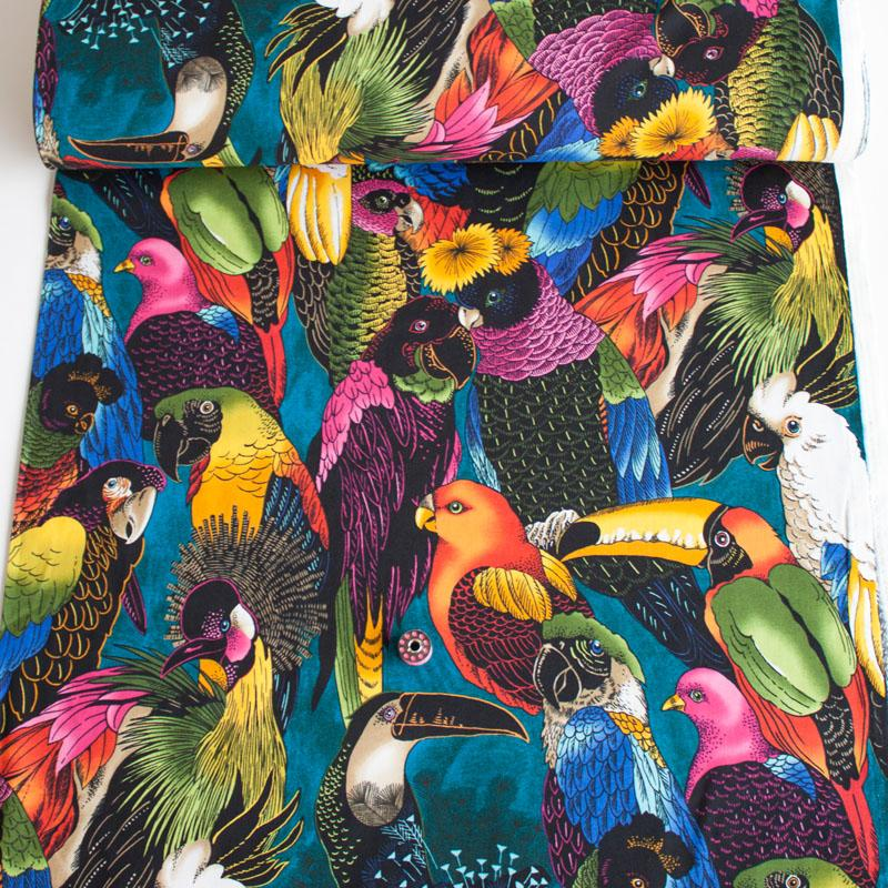 AH Birds Of A Feather Multi - Frumble Fabrics