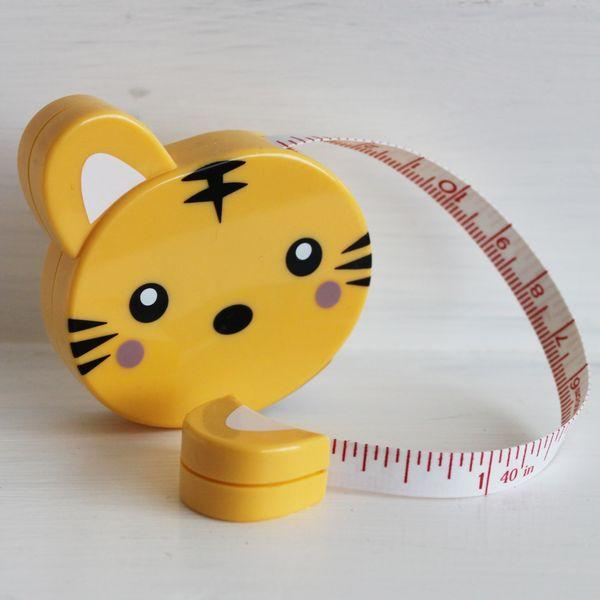 Tape Measure Cat - Frumble Fabrics