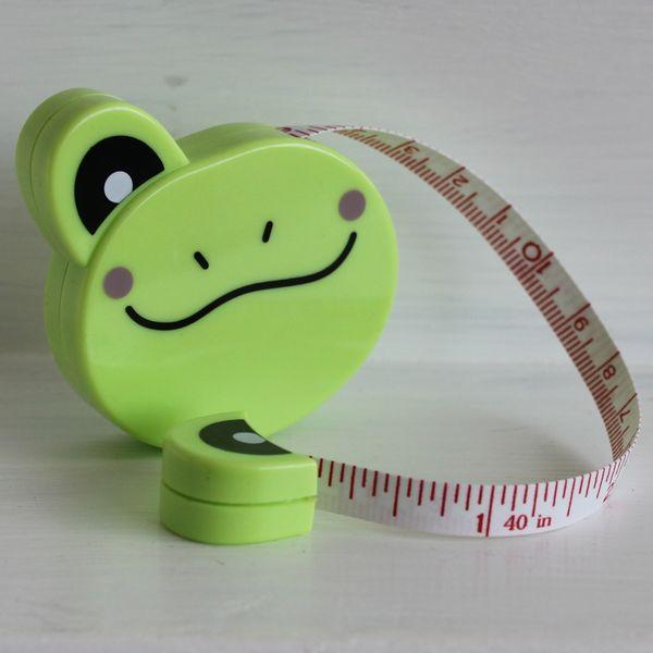 Tape Measure Frog - Frumble Fabrics