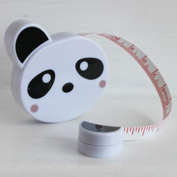 Tape Measure Panda - Frumble Fabrics