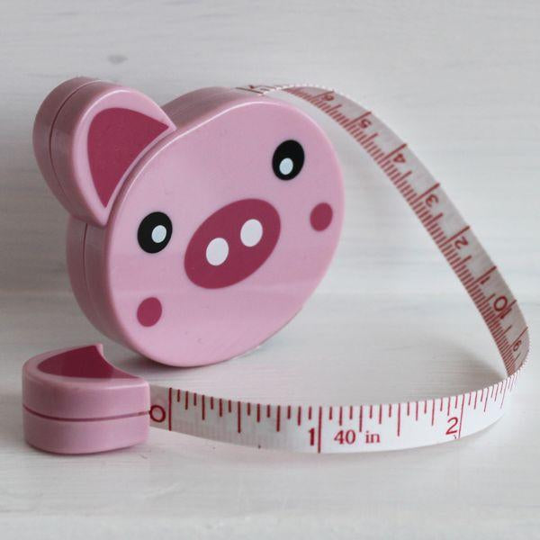 Tape Measure Pig - Frumble Fabrics