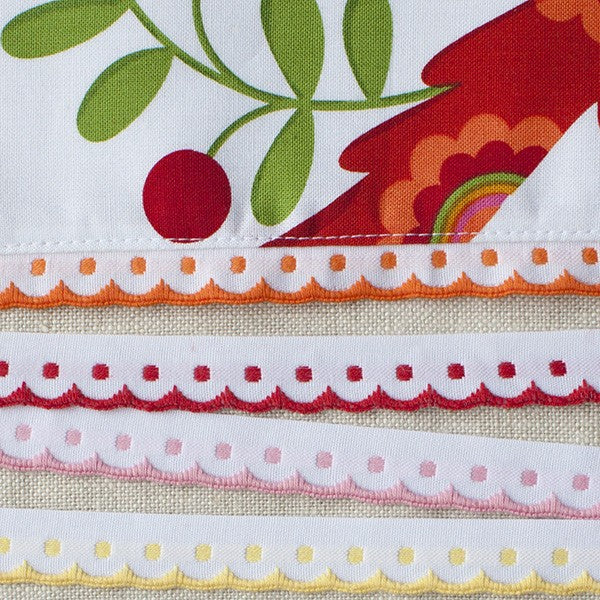 Antwerp Dotty Edge Trim - Frumble Fabrics