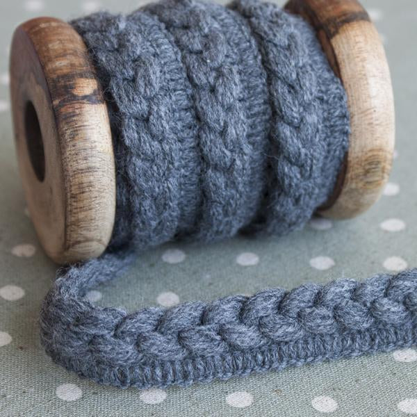 Arctic Yarn Braid - Frumble Fabrics
