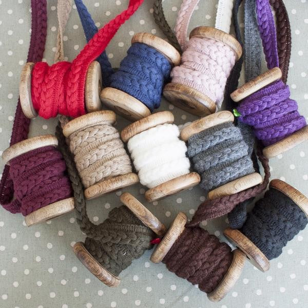 Arctic Yarn Wool  Braid - Frumble Fabrics