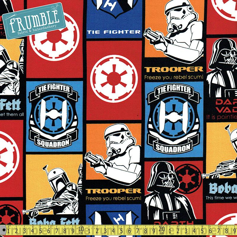 Star Wars Dark Side Collage - Frumble Fabrics