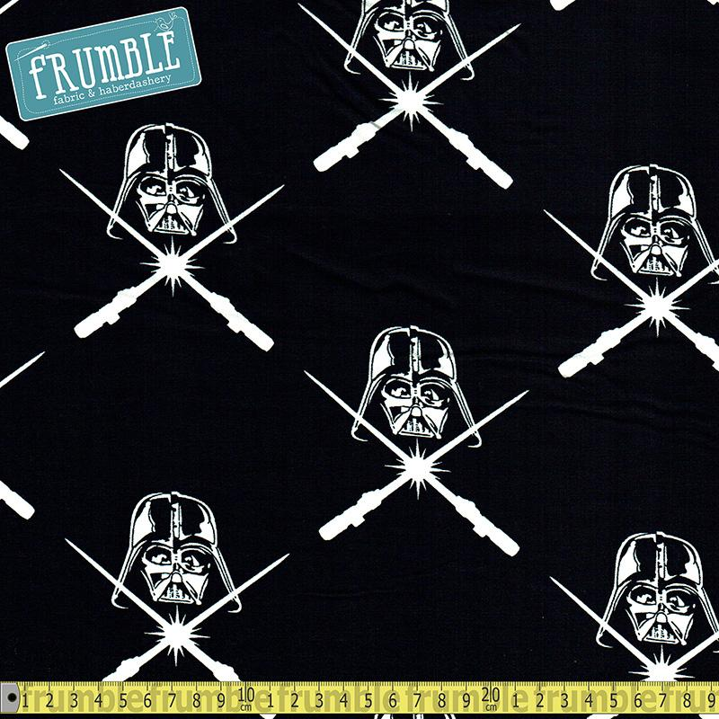 Star Wars Darth Vader & Lightsaber Fabric by Camelot