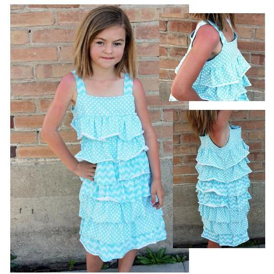 Mixi Heart - Cately Dress 2333 (Childrens) - Frumble Fabrics
