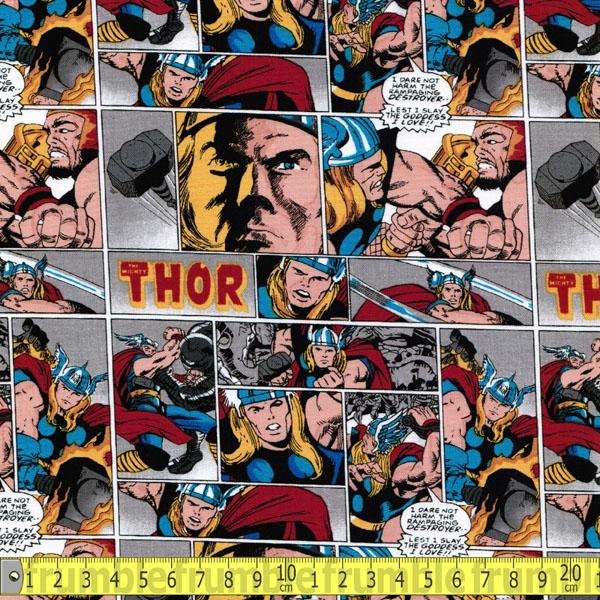 Marvel Comics II Thor Fabric by Camelot