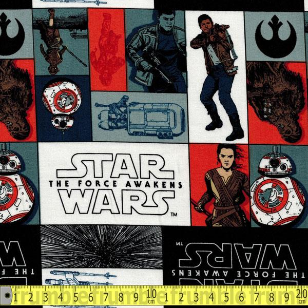 Star Wars Force Awakens Rebels Fabric by Camelot