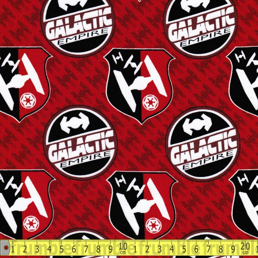 Star Wars Galactic Empire GLOW IN THE DARK Fabric by Camelot