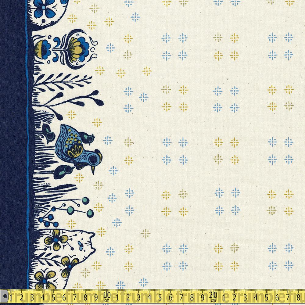 Cotton and Steel - From Porto With Love - Bakers Apron Creme Sewing Fabric